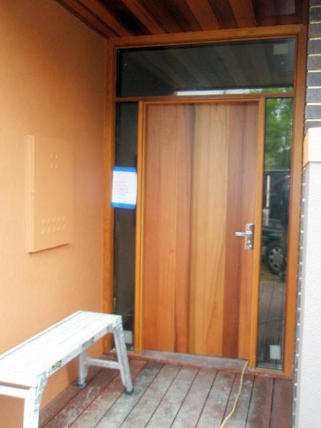 Cedar Entry & JK Windows u0026 Doors: Bifolds Melbourne | Entrance | Sliding | JK ...